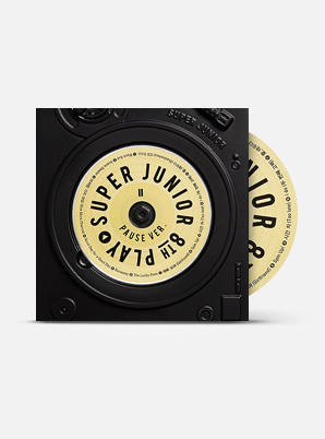 SUPER JUNIOR The 8th Album - PLAY PAUSE Ver.