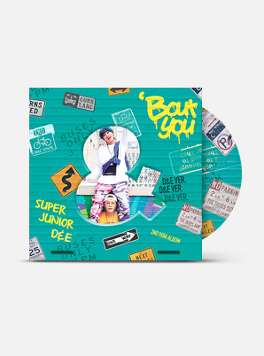 SUPER JUNIOR-D&E The 2nd Mini Album - 'Bout You (D&E Ver.)