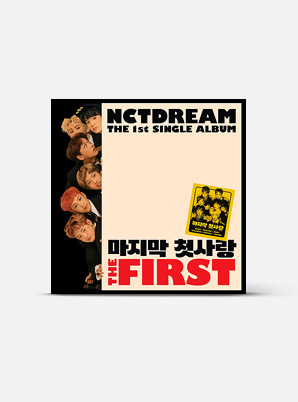 NCT DREAM The 1st Single Album - The First (Kihno Kit)