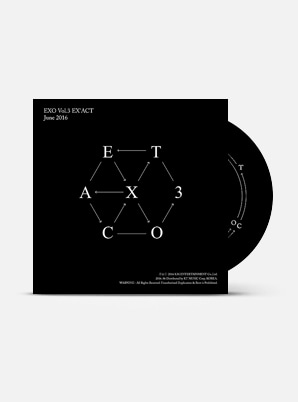 EXO The 3rd Album - EX'ACT (Chn Ver.)
