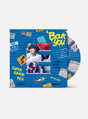 SUPER JUNIOR-D&E The 2nd Mini Album - 'Bout You (E Ver.)