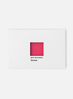 [MD &P!CK] GIRLS' GENERATION  SM ARTIST + PANTONE™ POST CARD