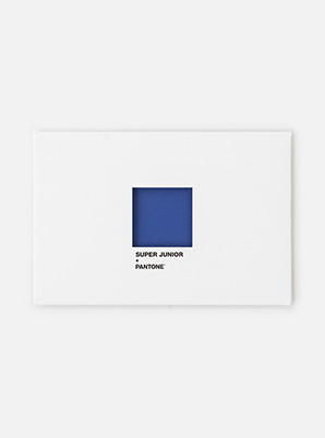 [MD &P!CK] SUPER JUNIOR  SM ARTIST + PANTONE™ POST CARD