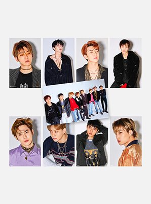 EXO 4X6 PHOTO SET - LOVE SHOT