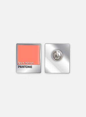 Red VelvetSM ARTIST + PANTONE™ DIY PIN