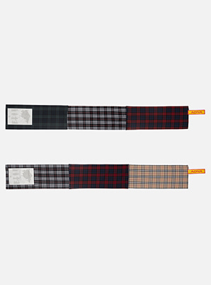 [Stylist &P!CK] ADNA cotton check Muffler