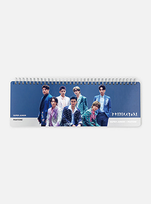 SUPER JUNIORSM ARTIST + PANTONE™ PHOTO WEEKLY PLANNER