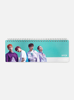 [MD &P!CK] SHINee  SM ARTIST + PANTONE™ PHOTO WEEKLY PLANNER