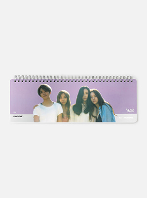 [MD &P!CK] f(x)  SM ARTIST + PANTONE™   PHOTO WEEKLY PLANNER