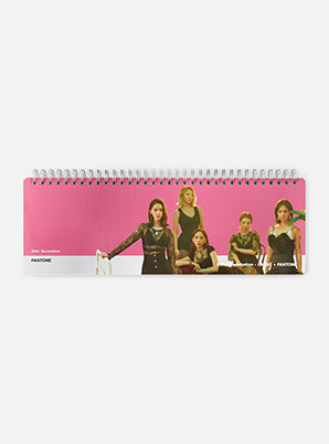GIRLS' GENERATION-Oh!GGSM ARTIST + PANTONE™ PHOTO WEEKLY PLANNER