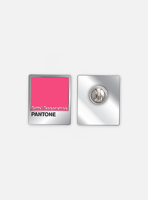 [PANTONE SALE] GIRLS' GENERATION  SM ARTIST + PANTONE™ DIY PIN