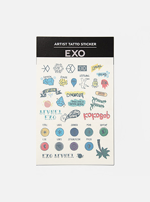 EXO ARTIST TATTOO STICKER