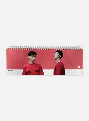 TVXQ! 2019 SM ARTIST + PANTONE™ PHOTO WEEKLY PLANNER