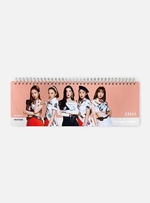 [MD &P!CK] Red Velvet  SM ARTIST + PANTONE™  PHOTO WEEKLY PLANNER