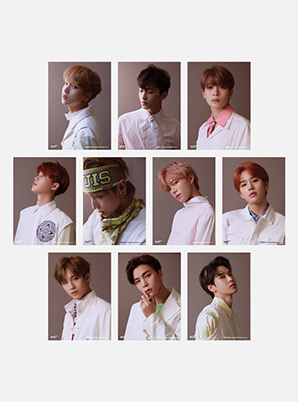 NCT 1274X6 PHOTO + POST CARD SET - Regular-lrregular