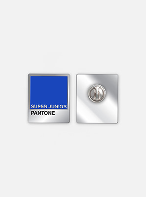 SUPER JUNIORSM ARTIST + PANTONE™ DIY PIN