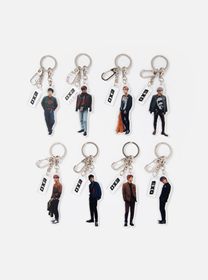 EXO ACRYLIC CHARM SET - DON'T MESS UP MY TEMPO