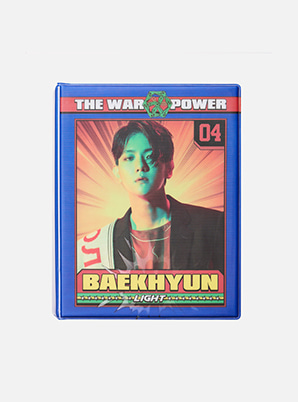 EXO LENTICULAR POSTCARD COLLECT BOOK - THE WAR POWER