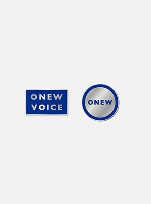 ONEW BADGE - VOICE