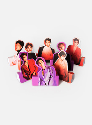EXO HOLOGRAM PHOTO CARD SET - LOVE SHOT