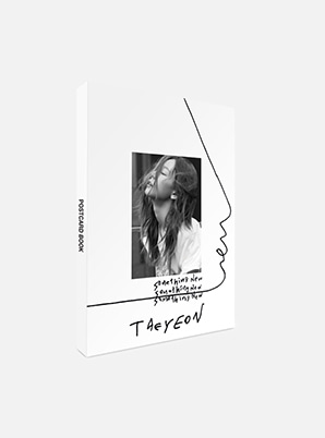 TAEYEON POSTCARD BOOK - Something New
