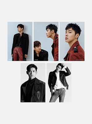 TVXQ! 4X6 PHOTO SET - New Chapter #1