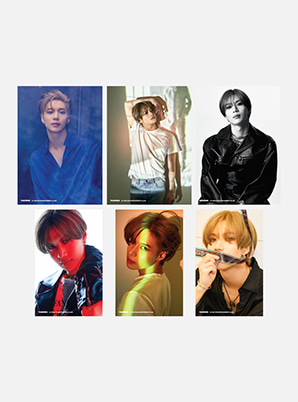 TAEMIN 4X6 PHOTO SET - WANT