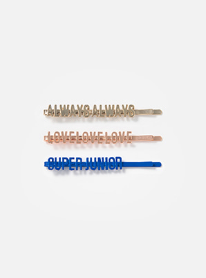 SUPER JUNIOR LOVELOVE HAIR PIN SET