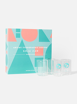 SHINee TYPOGRAPHIC SOJU ZAN SET