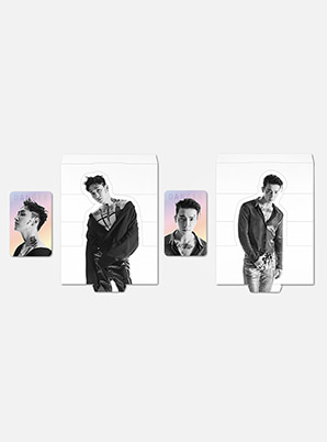 SUPER JUNIOR-D&E HOLOGRAM PHOTO CARD SET - DANGER