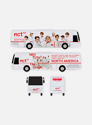 NCT 127 MINIATURE NEO CITY TOUR BUS