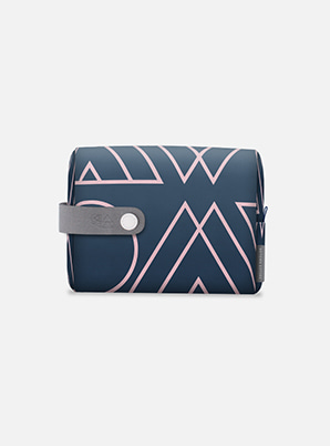 EXO TYPOGRAPHIC TRAVEL POUCH with ALIFE