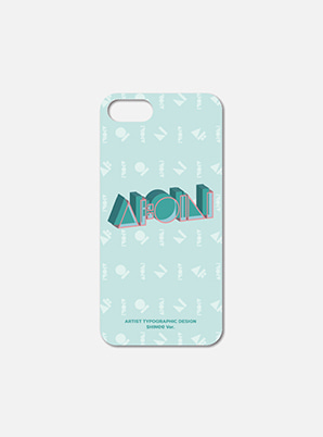 [ONLINE LIMITED] SHINee TYPOGRAPHIC ARTIST CASE