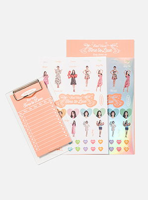 Red Velvet DAILY STICKER SET - Time To Love