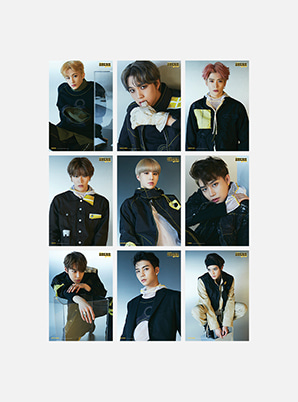 NCT 127 WE ARE SUPER HUMAN A4 PHOTO