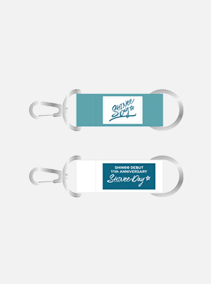 SHINee DEBUT 11th ANNIVERSARY EXHIBITION STRAP KEYRING