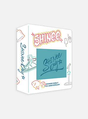 SHINee DEBUT 11th ANNIVERSARY EXHIBITION PHOTOCARD COLLECT BOOK