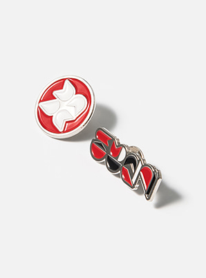 TVXQ! TYPOGRAPHIC BADGE