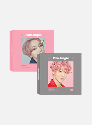 YESUNG 3rd Mini Album 'Pink Magic' (Khino)