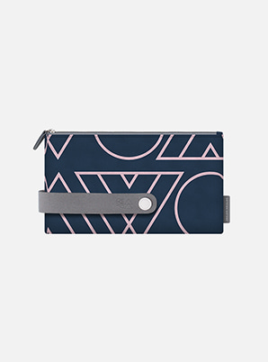 EXO TYPOGRAPHIC TRAVEL CLUTCH M with ALIFE