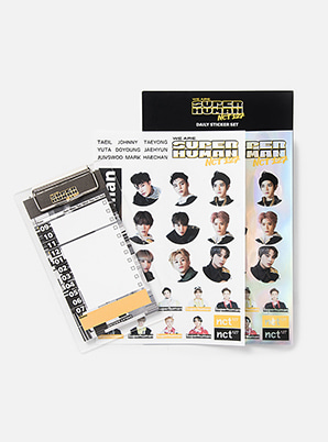 NCT 127 DAILY STICKER SET - WE ARE SUPERHUMAN