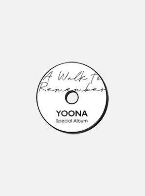YOONA BADGE - A Walk to Remember
