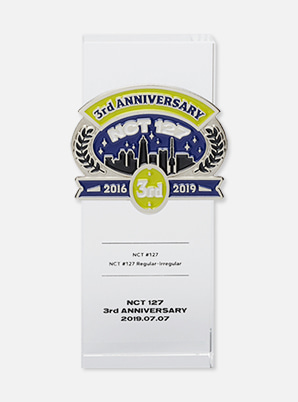 NCT 127 TROPHY 3rd ANNIVERSARY