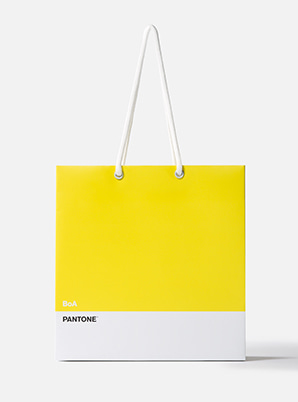 [MD &P!CK] BoA  2019 SM ARTIST + PANTONE™ SHOPPING BAG SET