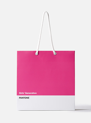[PANTONE SALE] GIRLS' GENERATION  2019 SM ARTIST + PANTONE™ SHOPPING BAG SET