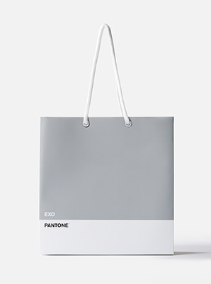 [MD &P!CK] EXO  2019 SM ARTIST + PANTONE™ SHOPPING BAG SET