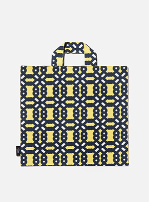 [MD &P!CK] &STORE BIG TOTE BOLD YELLOW