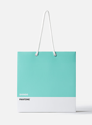 [MD &P!CK] SHINee  2019 SM ARTIST + PANTONE™ SHOPPING BAG SET