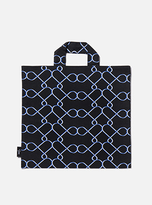 [MD &P!CK] &STORE BIG TOTE LINE BLACK