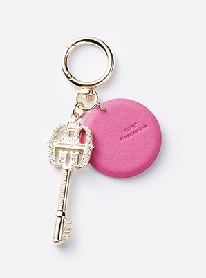 GIRLS' GENERATION LEATHER KEYRING 12TH